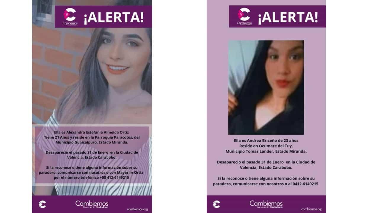 GALERÍA DE DESAPARECIDAS
